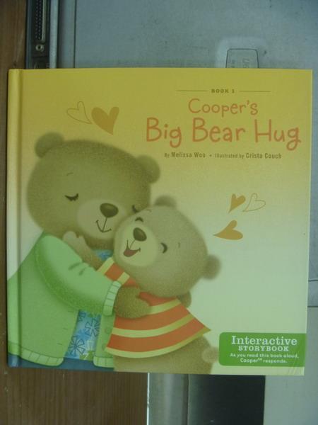 【書寶二手書T1/語言學習_KSU】Cooper's big bear hug