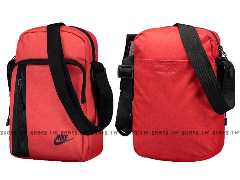Shoestw【BA5268-850】NIKE core small item 3.0 側背包 多功能小側包 紅黑