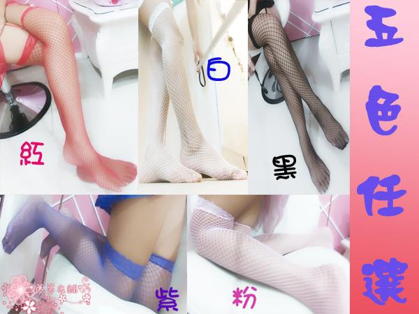 Oo粉紅泡泡oO(B017網襪直購價49元) 100%實品拍攝 五色 性感 蕾絲 大腿 網襪 /大腿襪/吊帶襪