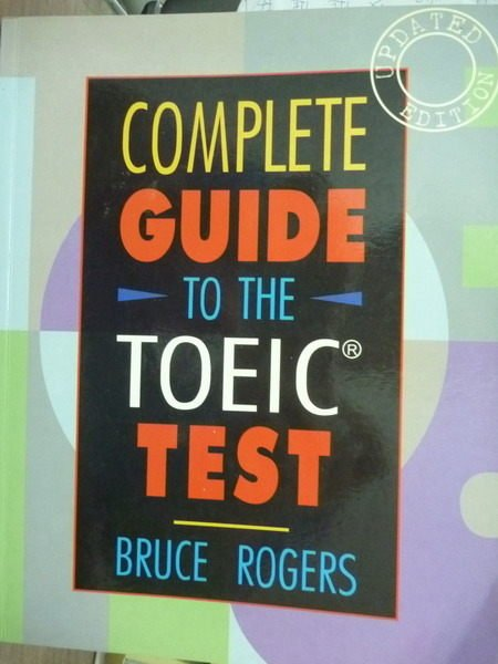 【書寶二手書T4/語言學習_PCR】Complete Guide to the TOEIC test_無CD