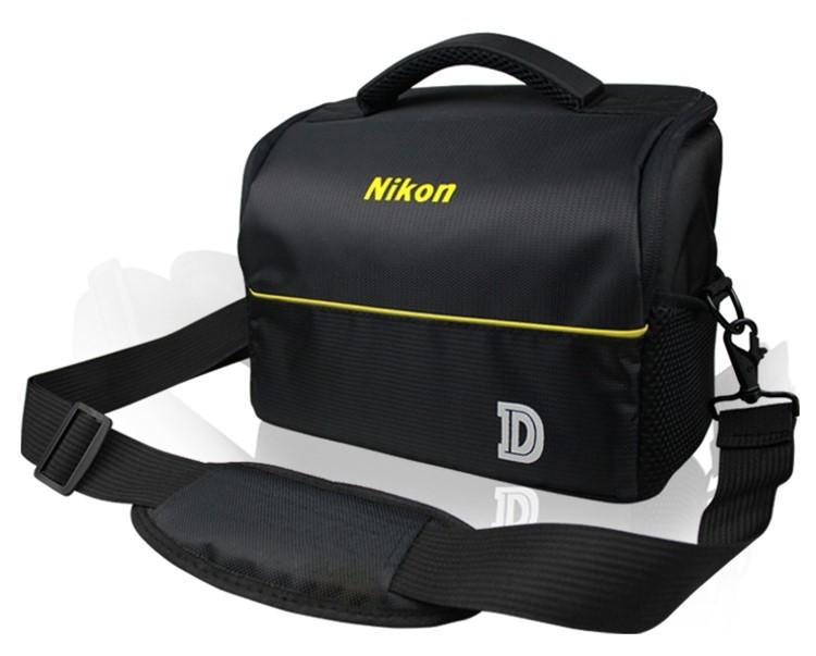 攝彩@尼康 Nikon 經典相機包,一機二鏡 1機2鏡 側背 附防雨罩 防水 單眼 類單眼適用-20308-Nikon經典包