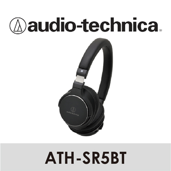 【 Audio-Technica 鐵三角 】藍牙無線耳機麥克風組   ATH-SR5BT