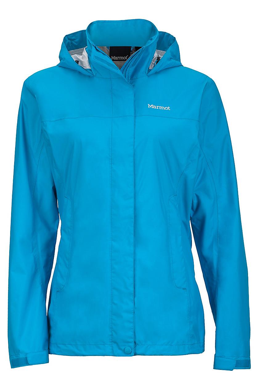 ├登山樂┤美國Marmot土撥鼠 Women's PreCip 女款防水外套/風雨衣 藍#46200-2264