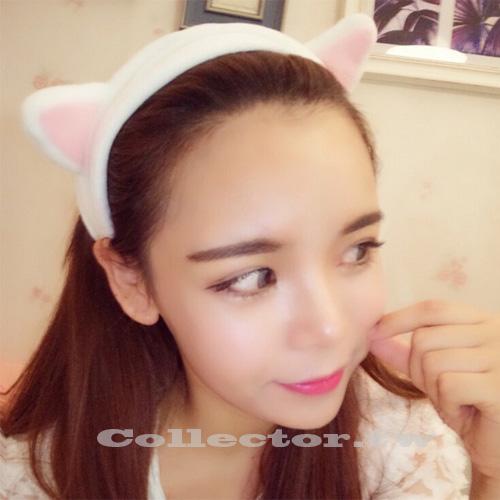 【J15112601】韓國-超萌貓耳朵束髮帶 貓耳髮箍