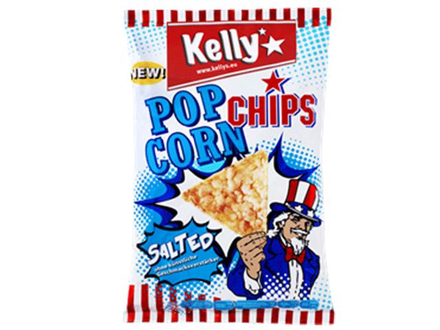奧地利進口 Kelly's 爆爆玉米片-海鹽150g