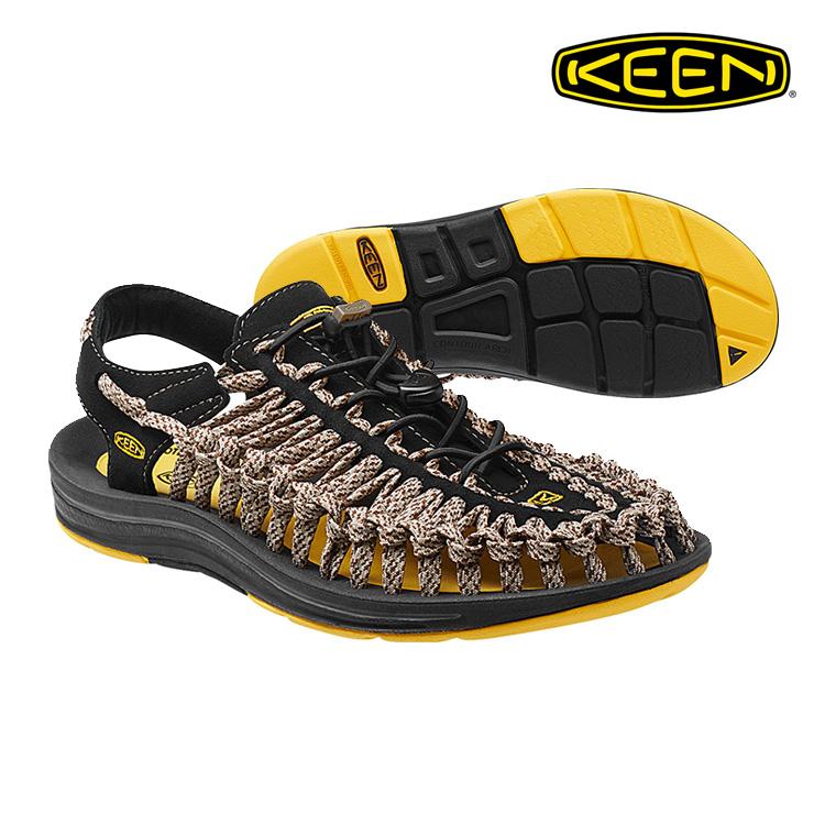 KEEN 織帶涼鞋Uneek 1014624《男款》/ 城市綠洲 (編繩結構,輕量,戶外休閒鞋,運動涼鞋)