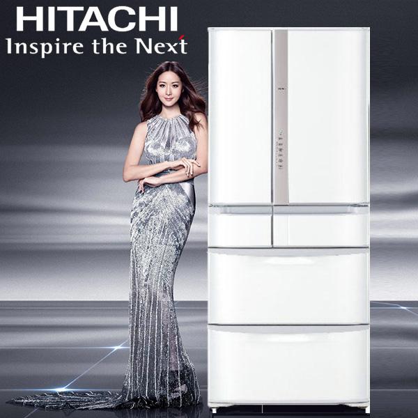 【2017新上市預售】HITACHI 日立 615L 六門 變頻冰箱 RSF62J 日本原裝