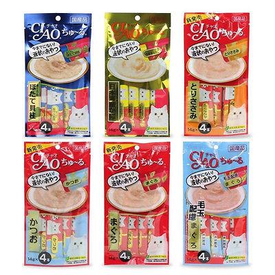 《滿千加購》日本CIAO│啾嚕肉泥 貓零食 隨機出貨