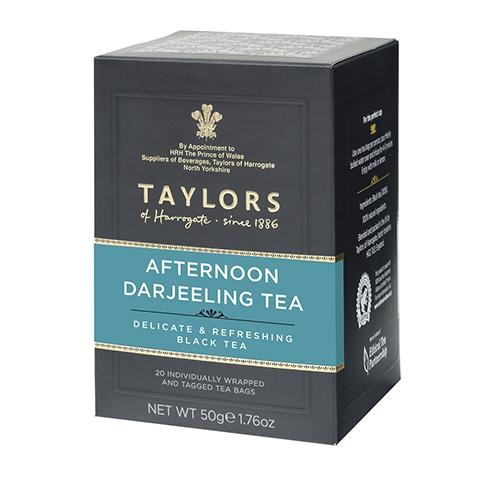 NG   Taylors 英國大吉嶺下午茶(20包/盒)