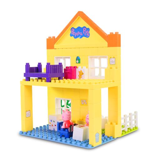 粉紅豬小妹積木系列-豪華房屋組/ Peppa Construciton/ 猪媽媽/ 佩佩豬/ Peppa Pig/ 伯寶行