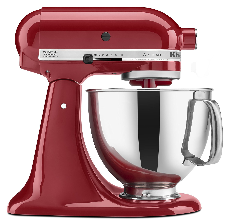 現貨 紅色 美國 KitchenAid KSM150PSER Artisan Series 5-Quart Mixer 紅色 福利品 攪拌機