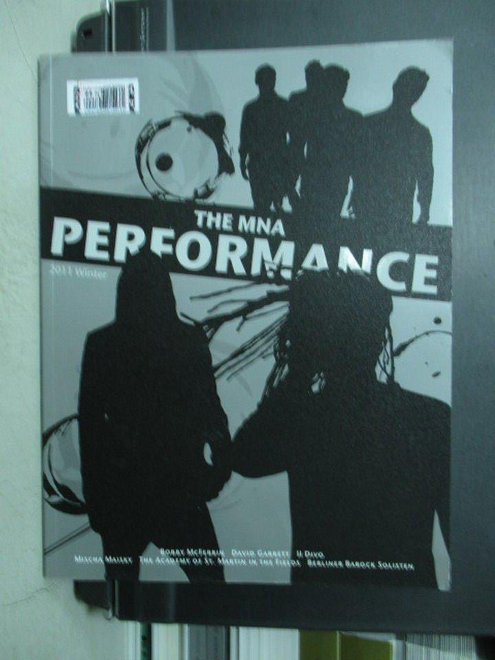 【書寶二手書T7/藝術_QIV】MNA Performance Winter 2011_Bobby McFerrin..
