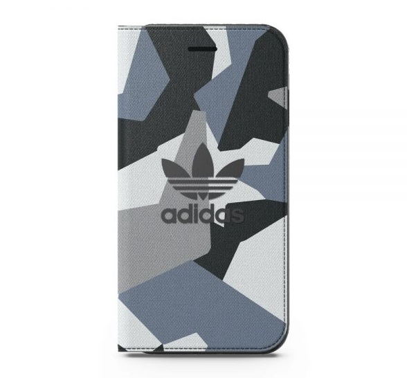 adidas Originals 4.7吋 iPhone 7/i7 NMD Graphic 迷彩/翻蓋式手機皮套/可收納卡片/手機套/保護套/手機殼/側掀