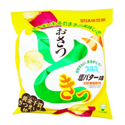 [敵富朗超市]UHA味覺糖味覺黃薯片-奶油鹽味