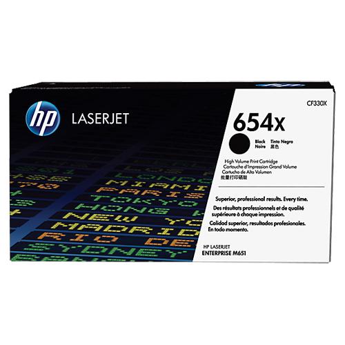 【HP 碳粉匣】HP CF330X (654x) 黑色高容量碳粉匣