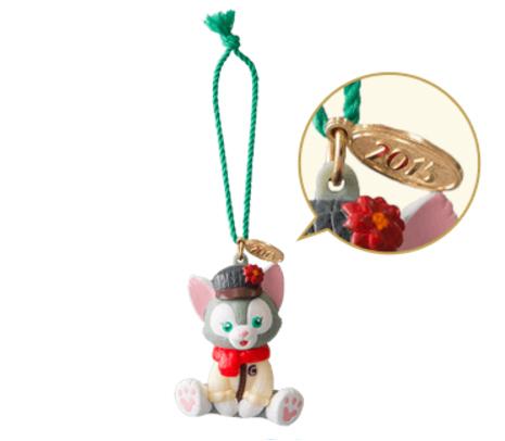 【真愛日本】15111700018 聖誕節限定15-公仔傑力東尼 Duffy &ShellieMay東京迪士尼樂園