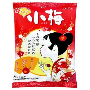 Lotte樂天小梅夾心糖(68g)