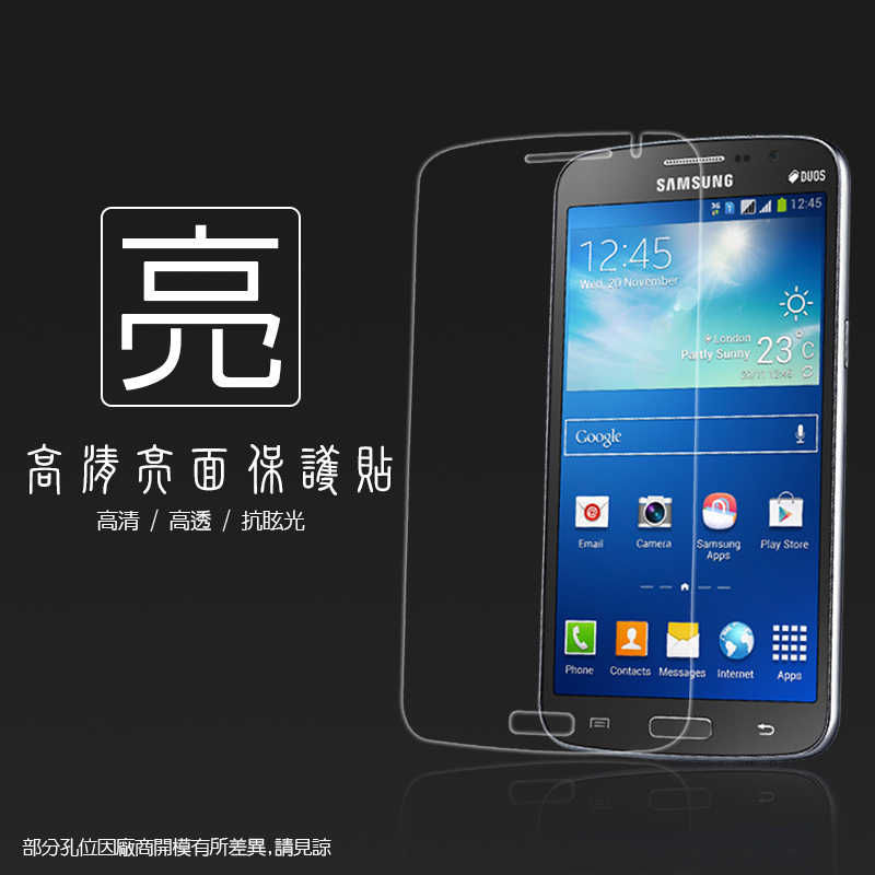 亮面螢幕保護貼 Samsung Galaxy Grand 2 G7102/G7106  保護貼