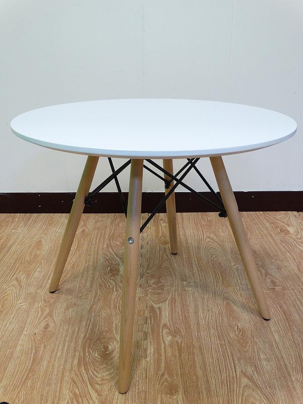 【新生活家具】 小茶几 邊桌 兒童餐桌 北歐風 實木腳 伊姆斯 DSW Eames 歐瑞 非 H&D ikea 宜家