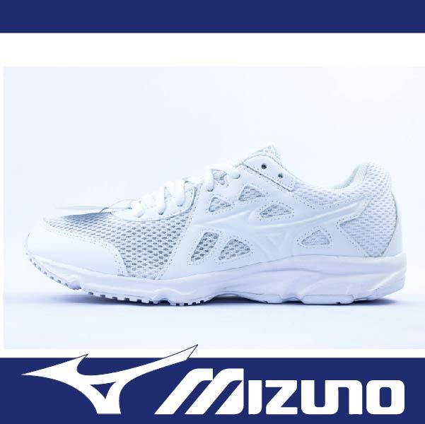 萬特戶外運動 MIZUNO K1GA170201 男女慢跑鞋 MAXIMIZER 19 寬楦 基本款 學生鞋 便宜 全白色