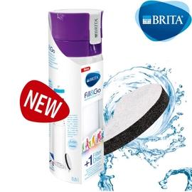 德國 BRITA Fill&Go 0.6L 隨身濾水瓶 濾水壺 內贈專用提帶紫色現貨供應629元