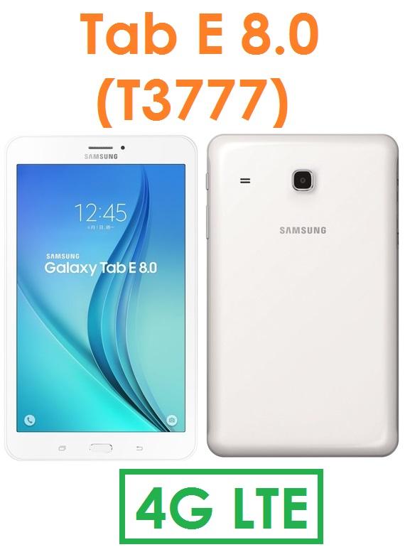 【原廠現貨】三星 Samsung TAB E 8.0(T3777)8吋 1.5G/16G 4G LTE 可通話平板電腦●5000mAh長待機 TabE