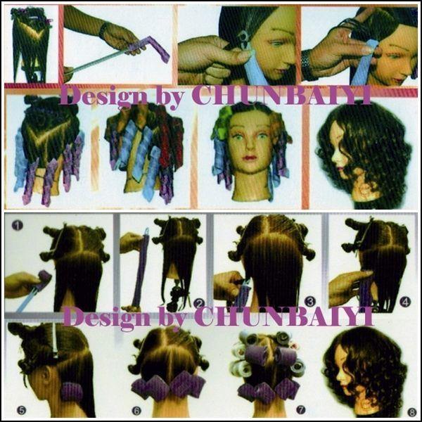 日本美人風 魔術 髮捲 免電燙髮-神奇捲髮器-魔術捲 混搭20捲超值組-DIY捲 彈力捲 造型捲