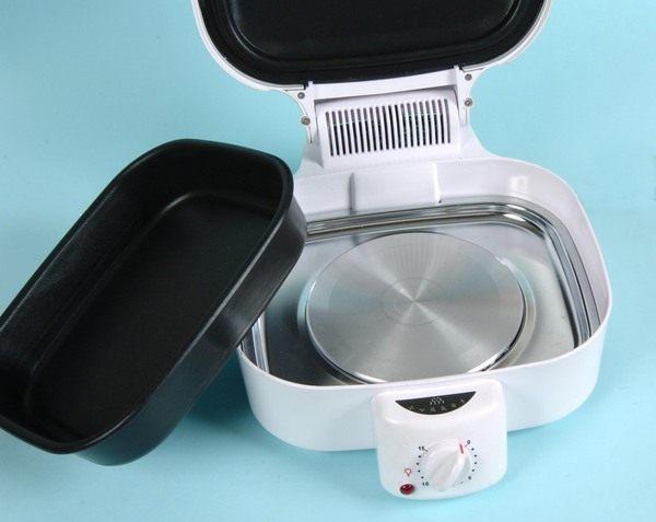 時尚 廚藝寶-MIA-C300 蜜雅 健康 隨意煲-有排油煙機的電鍋+免火再煮鍋24cm /刨絲削皮二件組-超值組