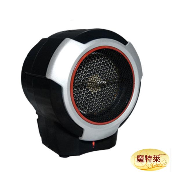 *12月後到貨*《魔特萊Motely》迷你遠紅外線陶瓷旋風電暖爐/電暖器-RD-9021-防傾倒斷電/保暖/禦寒/負離子/多段溫控/定時