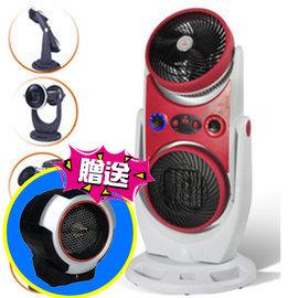 買一送一《勳風》MEIJI美緻冷暖陶瓷電暖器MJ-7316 送 《魔特萊》防傾倒陶瓷旋風電暖器RD-9021