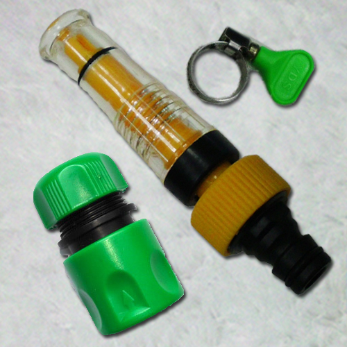 魔特萊透明加壓水槍配件包(3件式)加壓/高壓清洗/清潔洗車/洗門窗/澆花