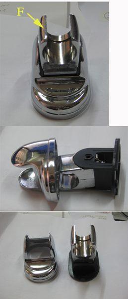 耐熱 塑膠 纖維 150cm 連接 軟管(水管)*1+蓮蓬頭 專用可調式 掛座(掛勾)*1