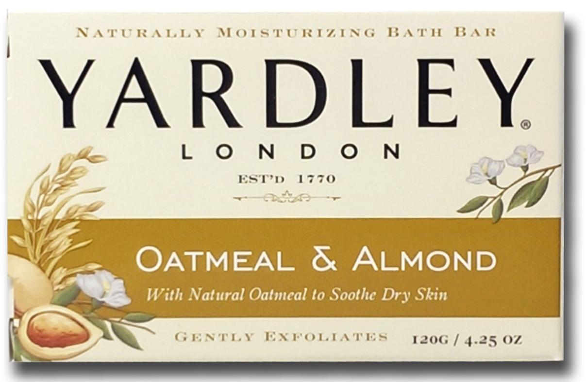 美國進口 Yardley London 燕麥杏仁香皂120g
