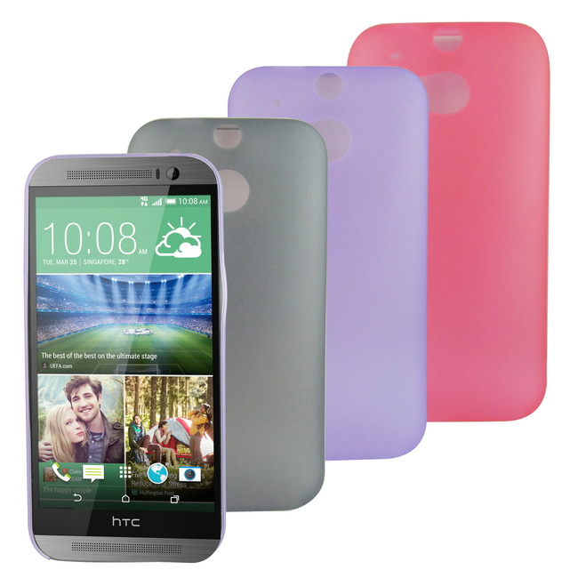 HS1超薄款HTC One(M8)手機保護殼(加贈螢幕貼)
