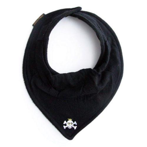 ★衛立兒生活館★瑞典 Elodie Details 艾洛迪 領巾型口水巾圍兜-搖滾骷髏頭