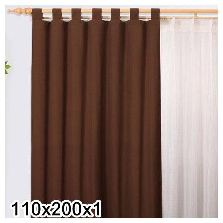 吊帶式窗簾ESTELLA BR 110X200X1