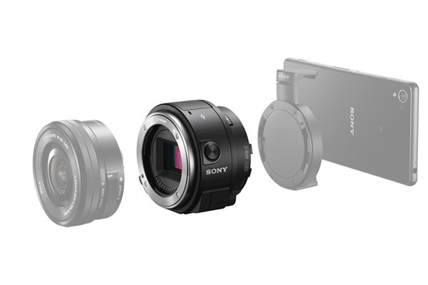 【新博攝影】Sony QX1 高畫質手機外掛鏡頭轉接環 送原廠電池(分期0利率;台灣索尼公司貨)