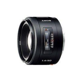 【新博攝影】Sony 50mm F1.4 標準鏡頭 (分期0利率;台灣索尼公司貨)