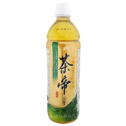 古道 茶帝日式綠茶 無糖 600ML