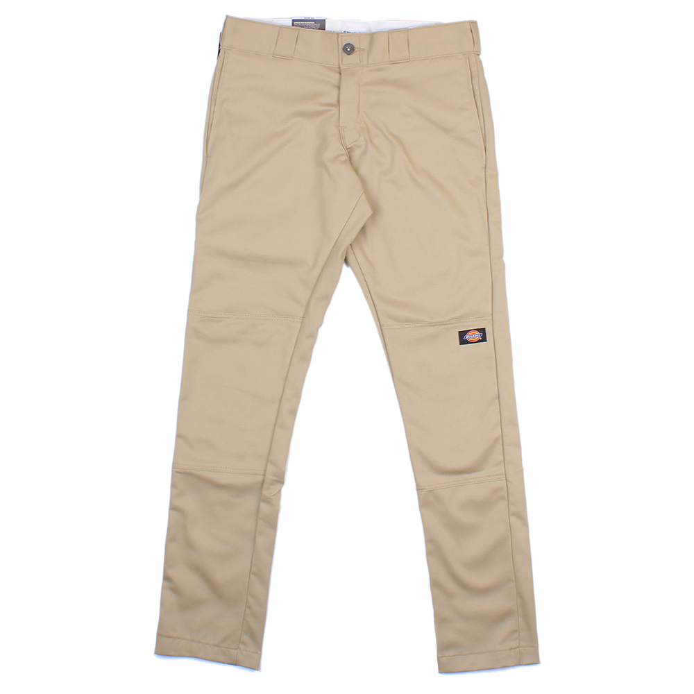 【EST】美版 DICKIES WP811 SKINNY FIT WORK PANTS 窄版 直筒 工作褲 [DK-5005-537] 卡其 W28~36 F0108