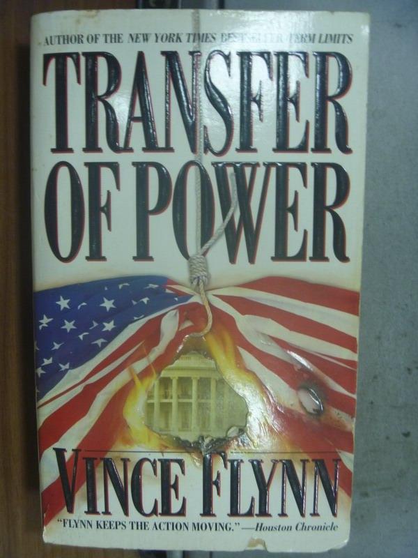 【書寶二手書T9/原文小說_OSV】Transfer of Power_Vince Flynn