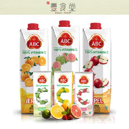 印尼飲品 ABC果汁  枊橙 / 荔枝 /  蘋果 / 芒果 / 綠豆汁 /  羅望果汁 250ML