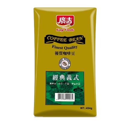 【廣吉】義式經典咖啡豆 (454g)