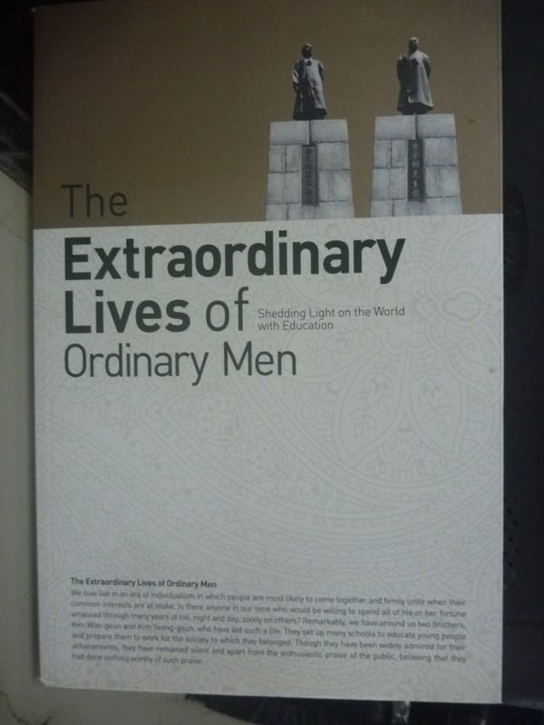 【書寶二手書T4/傳記_ZEE】The Extraordinary Lives of Ordinary