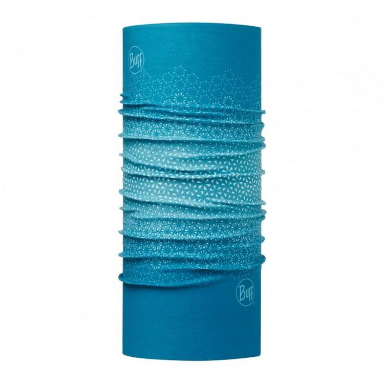路跑/馬拉松/健行/嘉明湖/玉山/滑雪 [ Buff ] Women SLIM FIT BUFF 西班牙魔術頭巾 窄版113071 綠松雪花