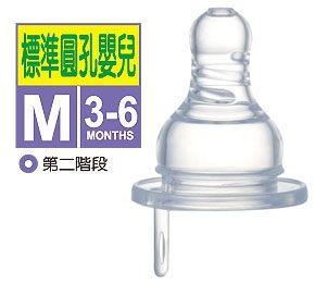 小獅王辛巴 防脹氣標準圓孔奶嘴M 1入(嬰兒)【德芳保健藥妝】