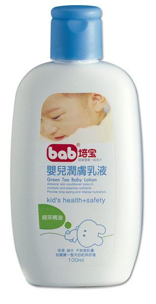培寶 嬰兒乳液-綠茶 100ml【德芳保健藥妝】