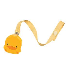 黃色小鴨 造型奶嘴鍊【德芳保健藥妝】