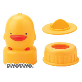 黃色小鴨 造型奶瓶蓋(標準口徑專用)【德芳保健藥妝】