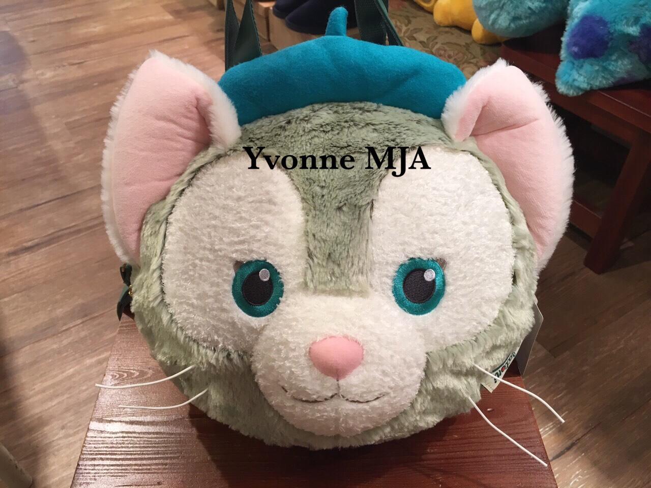 *Yvonne MJA日本代購*東京迪士尼海洋樂園限定正品傑拉東尼新款中頭絨毛手提肩後背包